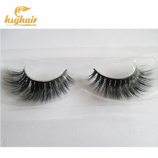 8e3455bac99 Hotselling Private label wispies eyelashes premium high quality 1pair/lot  Mink fur lashes