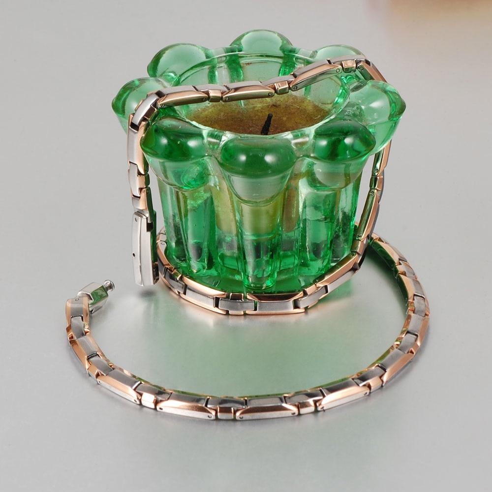 Wollet nakit zdravje energija titan magnetna ogrlica za ženske - Modni nakit - Fotografija 4