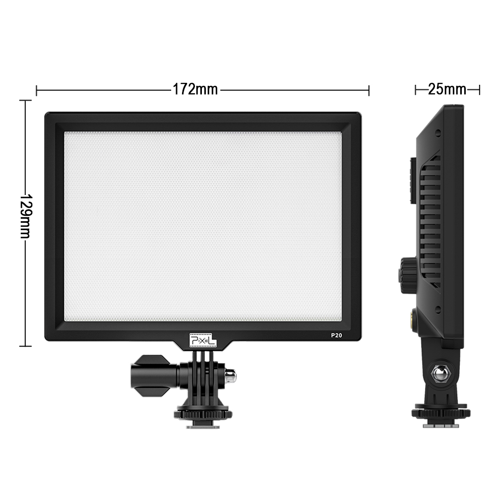 LED-uri lumini de fotografiat Pixe P20 SLR camera video video Studio - Camera și fotografia - Fotografie 2