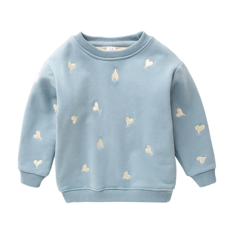 IMMDOS Baby Boys Girls Sweatshirt 2018 Brand Children Cotton Long Sleeve O-neck T Shirt Kids Tops Girls Winter Thicken Clothing be natural средство с запахом апельсина для удаления натоптышей callus eliminator orange 120 г