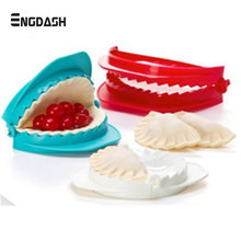 ENGDASH Set of 3 Sizes Dumpling Moulds Dough Press Ravioli Fruits Pie Mould Home Kitchen DIY Pastry Baking Cooking Tools