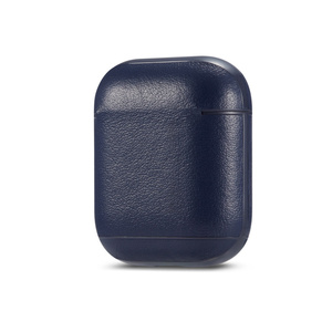 Image 5 - Étui pour écouteurs daffaires de luxe pour Apple Airpods 2 sangle en cuir PU Bluetooth casque Air Pods pochette de couverture accessoires AirPod