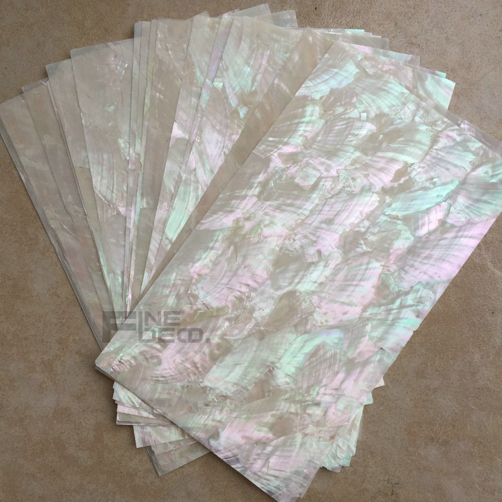 natural color fan shape abalone shell sheet for fish hook ...