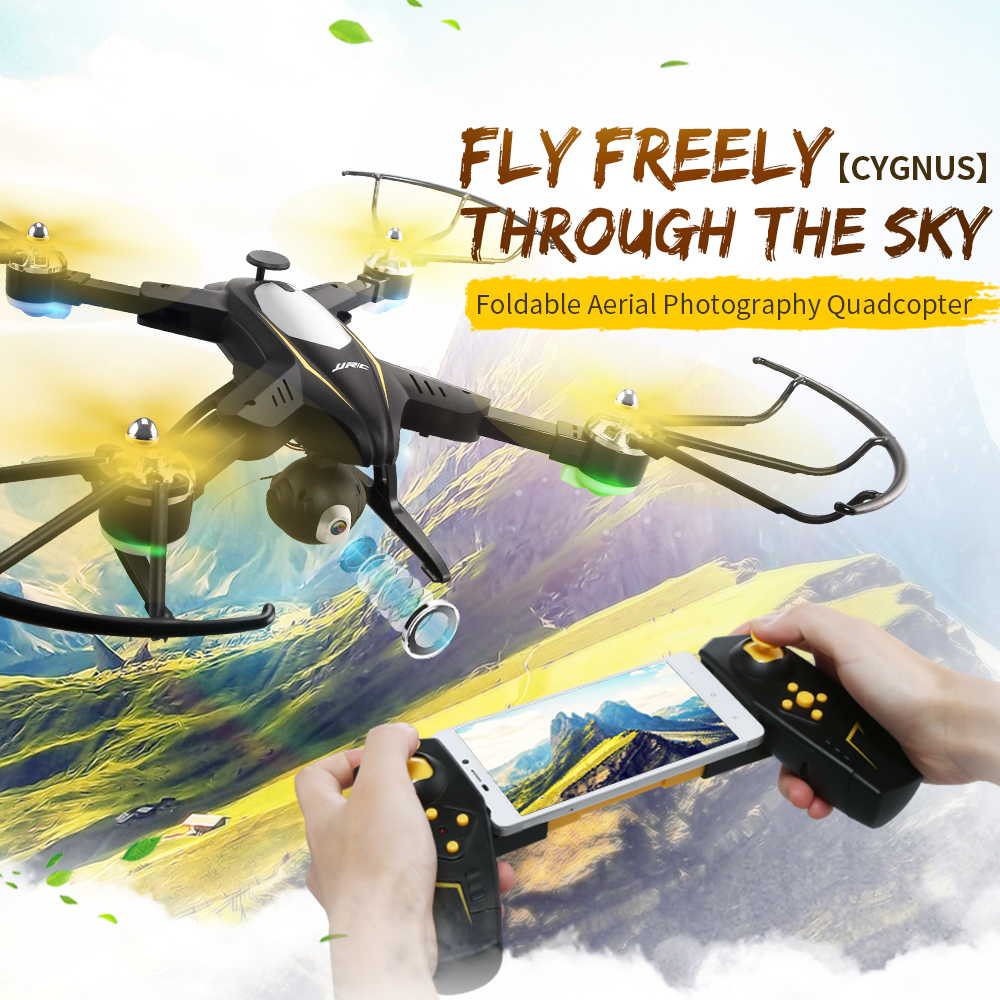 JJRC H39WH RC Drone with Camera Wifi FPV 720P Headless Mode RC Helicopter Altitude Hold Drones 360 Degree Rotation Foldable Arm jimi s 1 universal 360 degree rotation suction cup holder bracket for iphone gps more black
