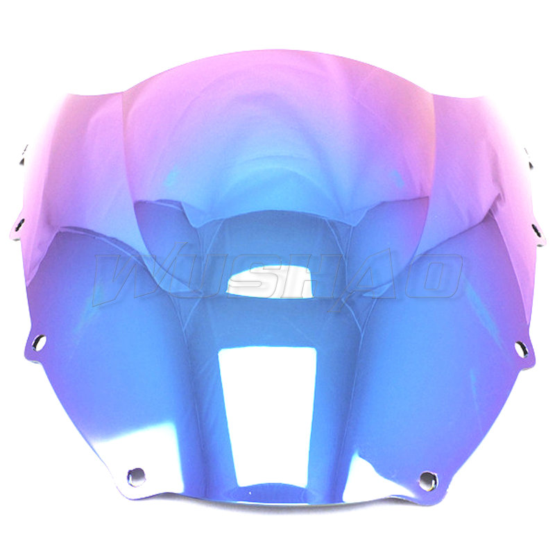 Windshields For 1998 1999 98 99 Kawasaki ninja zx9r iridium Screen Double bubble