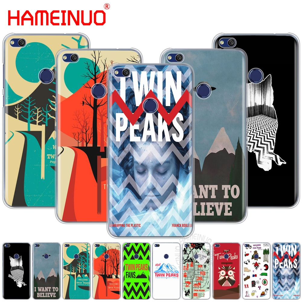 HAMEINUO welocme to the twin peaks Cover phone Case for huawei Ascend P7 P8 P9 P10 P20 lite plus pro G9 G8 G7 2017