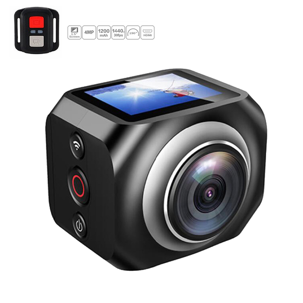 New Upslon EKEN WiFi Remote Control video 220 degree ultra wide viewing lens hero style 190 DV H360 R360 VR360 Camera charity lengwe meki kombe free primary education policy in zambia