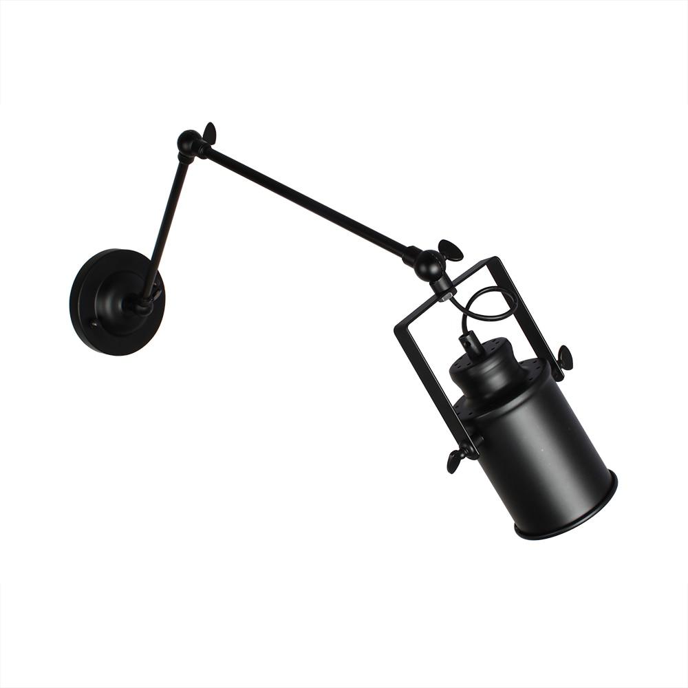 braco oscilante lampadas de parede ajustavel metal 02
