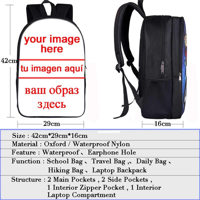 Забавный кот/собака косплей печати рюкзак для подростков мальчиков девочек рюкзак для студента детские школьные сумки ноутбук рюкзаки