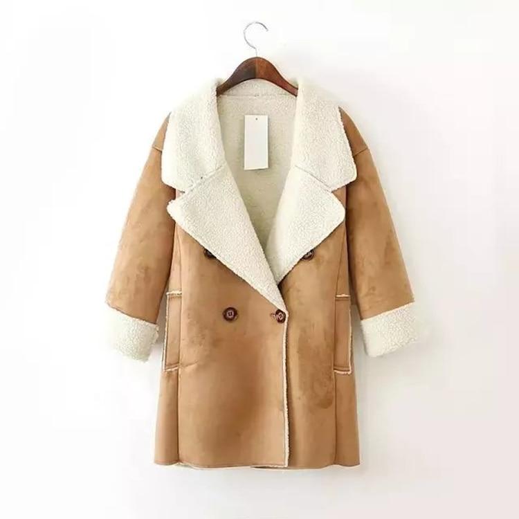 Popular Lambs Wool Coat Women Winter-Buy Cheap Lambs Wool Coat ...