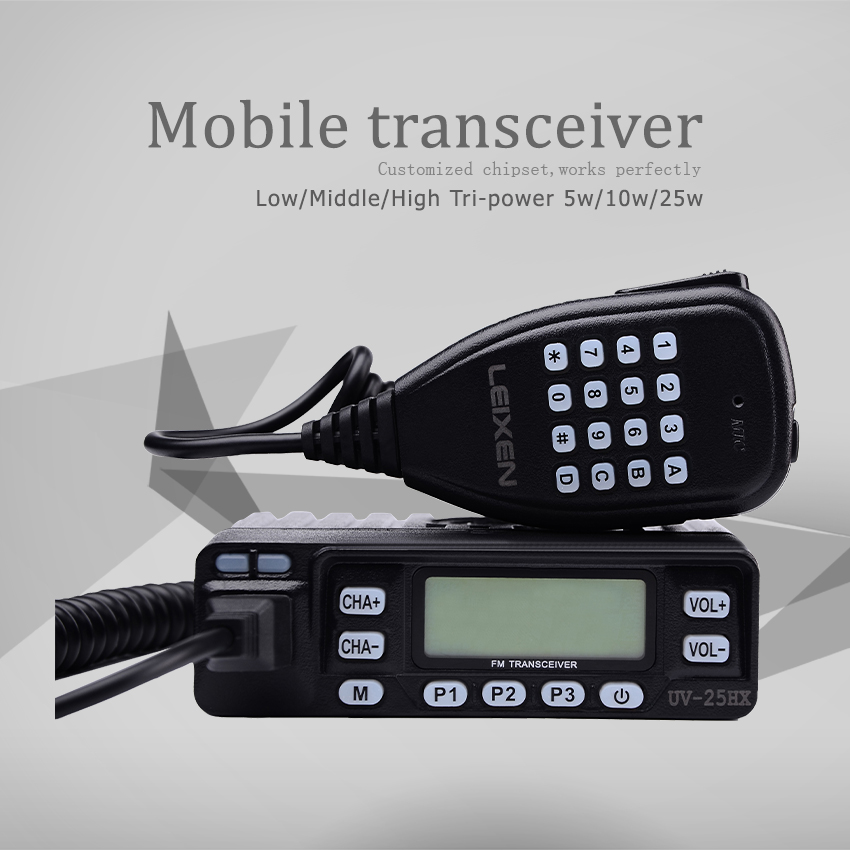 Radio Walkie Talkie Leixen UV 25HX 25w UV Car Radio,Sister walky talky professional Baofeng uv 5x TH UV8000D 10w KT 8900