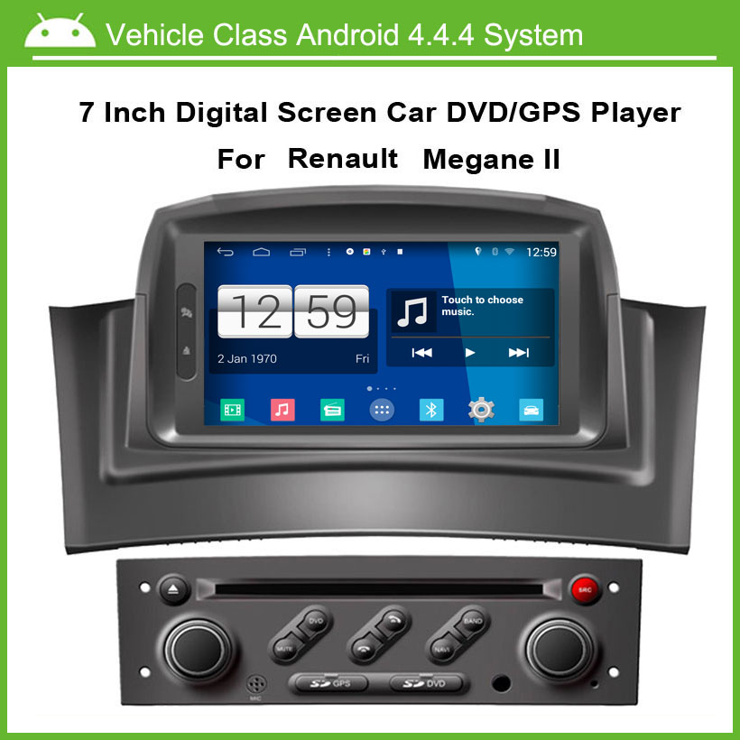 android car dvd video player for renault megane 2 fluence 2002 2008 with gps navgation speed 3g. Black Bedroom Furniture Sets. Home Design Ideas