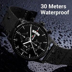 Image 5 - SWISH 2020 hommes montres de mode marque sport montres étanche militaire chronographe Quartz montre mâle Erkek Kol Saati