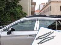 Fit Voor Subaru Outback 2010 2011 2012 2013 2014 Auto-Styling Plastic Vensterglas Wind Visor Regen/Zon guard Vent 4 Stuks