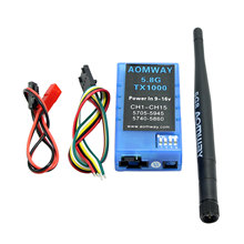 FPV Aomway 5.8G 15CH 1000mw TX Transmitter Transmission (Appropriate Fatshark Skyzone) for Drone Quadcopter