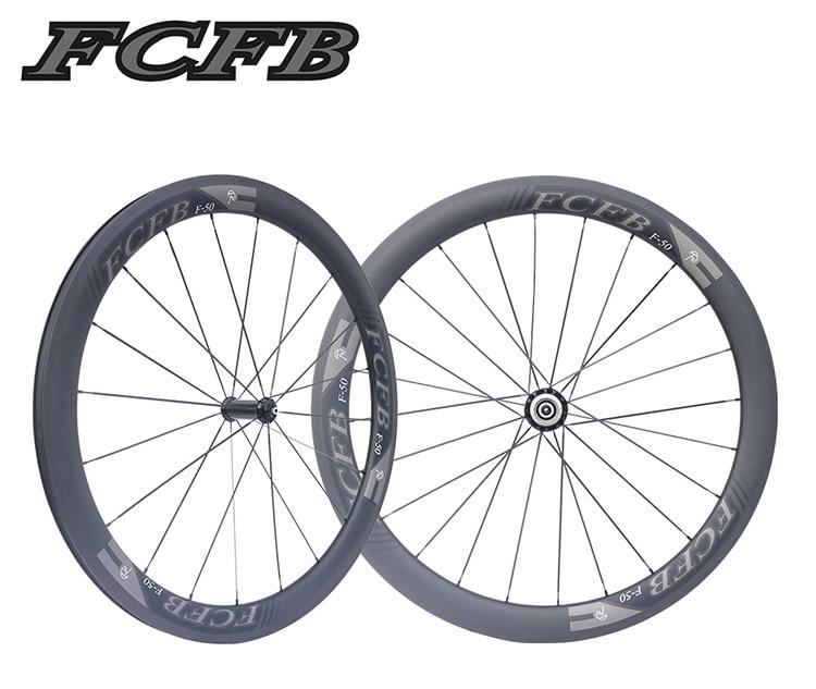 HTB1cx1fPpXXXXcPaXXXq6xXFXXXG - 2017 FCFB road carbon wheels 700C F50 carbon wheels with R36 hubs for Road Bike, 25mm width 3Kmatt Carbon Road clincher wheelset