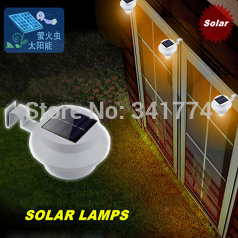 Retro Vintage Luz De LED Solar Panel Wall Fence Lamps Outdoor Solar Sconce scrubba Garden Step Path Porch Gutter Luminaria <font><b>Light</b></font>