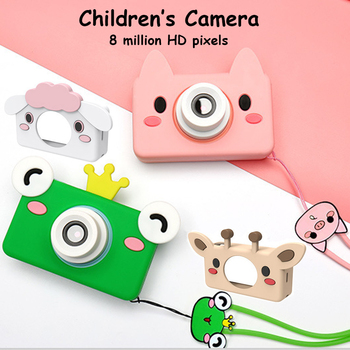 HD Mini Children Digital Camera 32G LCD Waterproof Drop-proof Puzzle Toddler Toy Camera Gift for Kids Photo Video Photography
