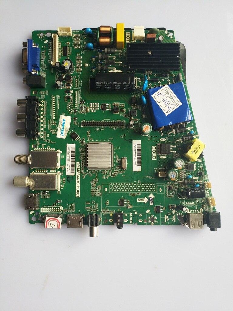 Для Фирменная новинка оригинальный ЖК дисплей ТВ материнская плата TP. MS3463S. PB801/HV430FHB-N4A тесты пятно