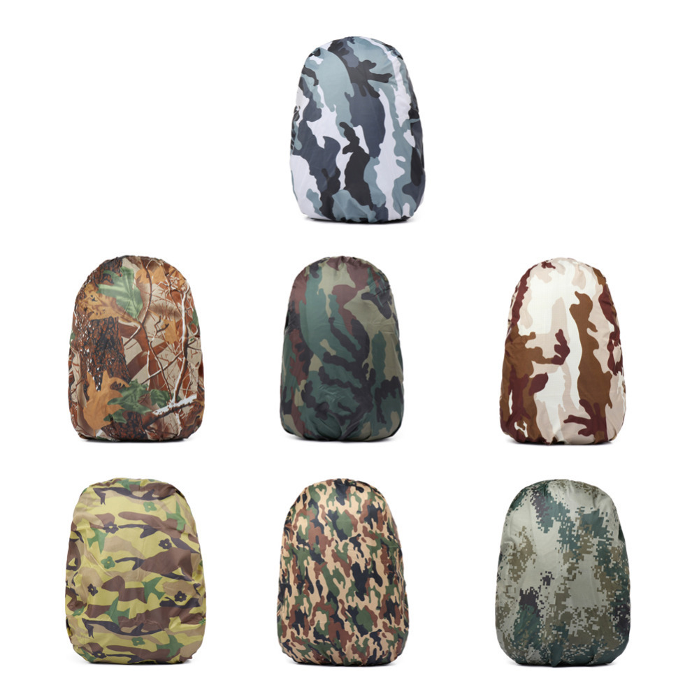 1633e3e439 Rain bag 7 colors rucksack cover 30 40L Nylon Camouflage Waterproof  Backpack outdoor camping hiking waterproof bag cover-in Climbing Bags from  Sports ...