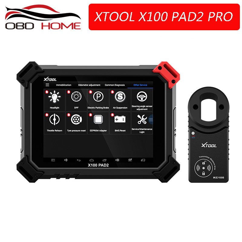 Best XTOOL X100 PAD2 Pro Wifi Bluetooth Professional Diagnostic Tool key programmer with VW 4th 5th