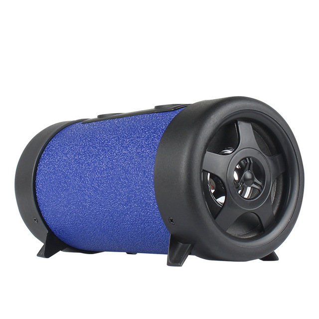4 inch Car Subwoofer Speaker Audio HiFi Car Motorcycle Auto Truck Sub Bass woofer Round Audio Boxes for Phone TF USB Support 1