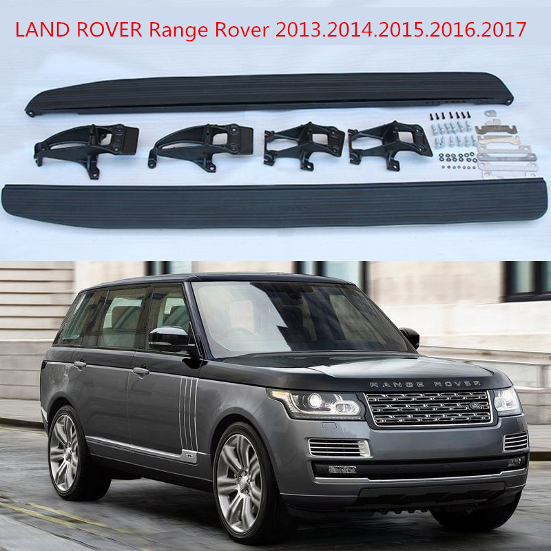 For LAND ROVER Range Rover 2013.2014.2015.2016.2017 Car Running Boards Auto Side Step Bar Pedals High Quality New Nerf Bars