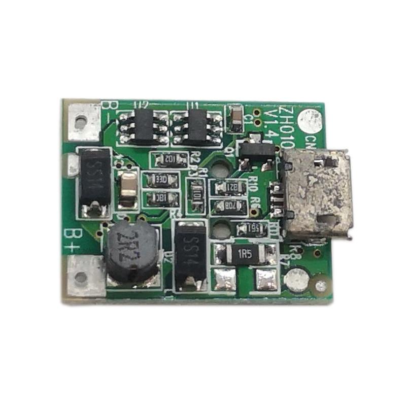 2 قطعة 3 في 1 3.7 فولت إلى 12 فولت وحدة تعزيز الطاقة شاحن مجلس بطارية ليثيوم شحن لوحة حماية PCB لوحة الدوائر