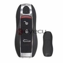 Новая Замена Ключи от машины Fob 3 Button 433 МГц для Porsche Cayenne 911
