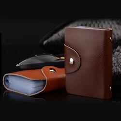 Модный функциональный чехол для карт, бизнес-держатель для карт, для мужчин и женщин, сумка для кредитных карт, для удостоверения личности, д...