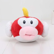 Flying Fish 1pcs 15cm big size Super Mario Bros Plush Doll Soft font b Toy b