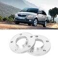 2 шт. 5x100 57.1CB алюминиевый центральный колесный прокладки шины адаптеры диски фланцевые ступицы для Skoda Fabia 2008 +