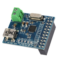 8 Channels Controller Mini USB HID Programmable Control Relay Module