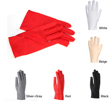 1 Pair Wedding Bride Workplace Safety Supplies Safety Gloves Wedding Etiquette Working Gloves Antiskid For Finger Protection P30