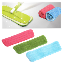 1pcs Microfiber Mop Head Replacement Mop Head for Water Spray Mop Home Floor Cleaning Tools Accessories Color Random