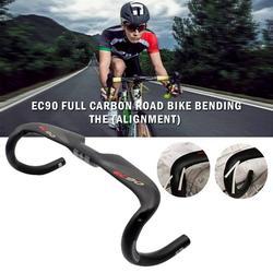 Ec90 nowe pełne włókno węglowe kierownica rowerowa/rower szosowy AERO kierownica/łodyga/uchwyt do gry Ud Matt