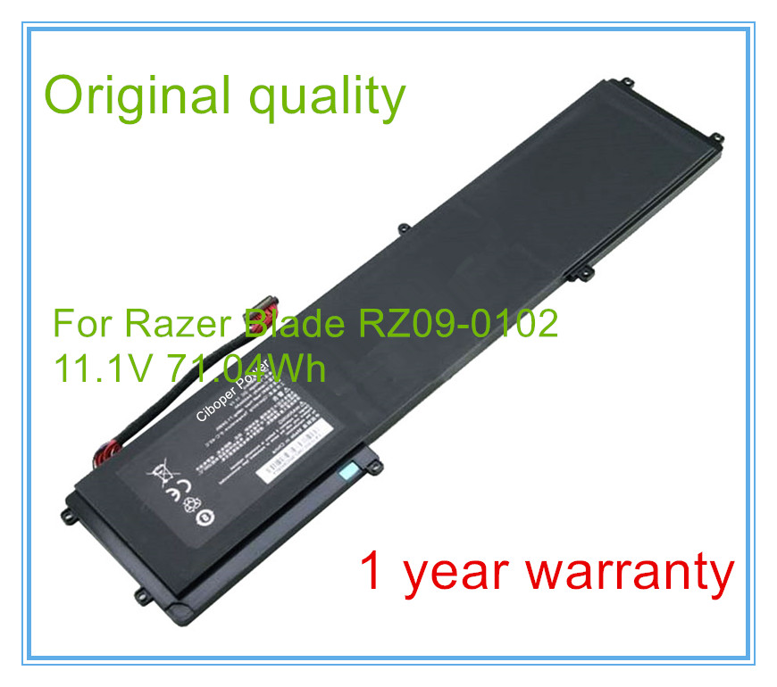 Original quality Battery for Blade RZ09-0102 Laptop Batteries