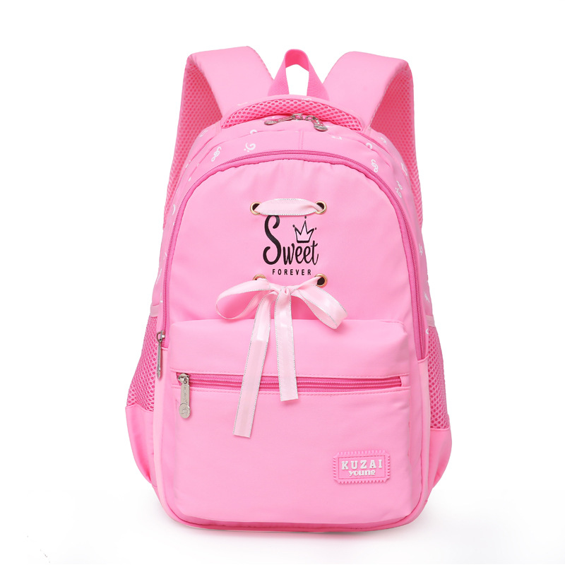 2019 New Large kids schoolbag cute Student School Backpack Print Waterproof bagpack primary school bags for teenager girls(China)