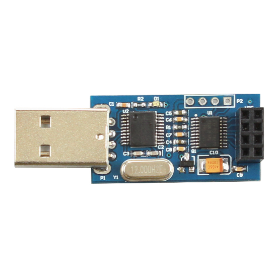 USB transfer module NRF24L01 wireless USB serial port module passthrough digital acquisition module of communication
