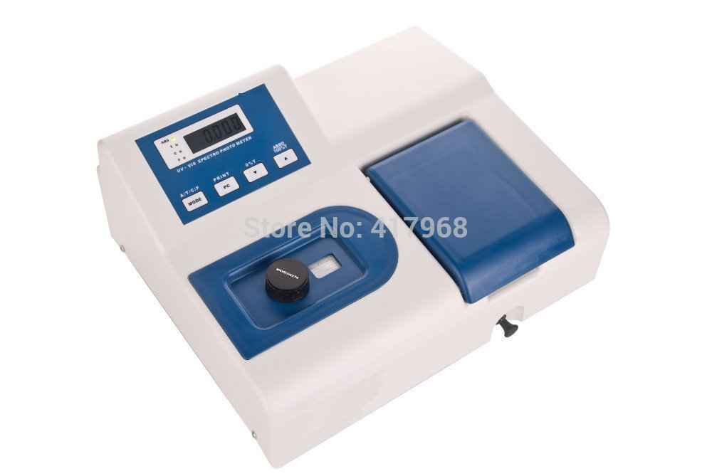 Visible Spectrophotometer 721 wavelength range 320-1020nm Spectral Bandwidth 6nm Genuine high precision