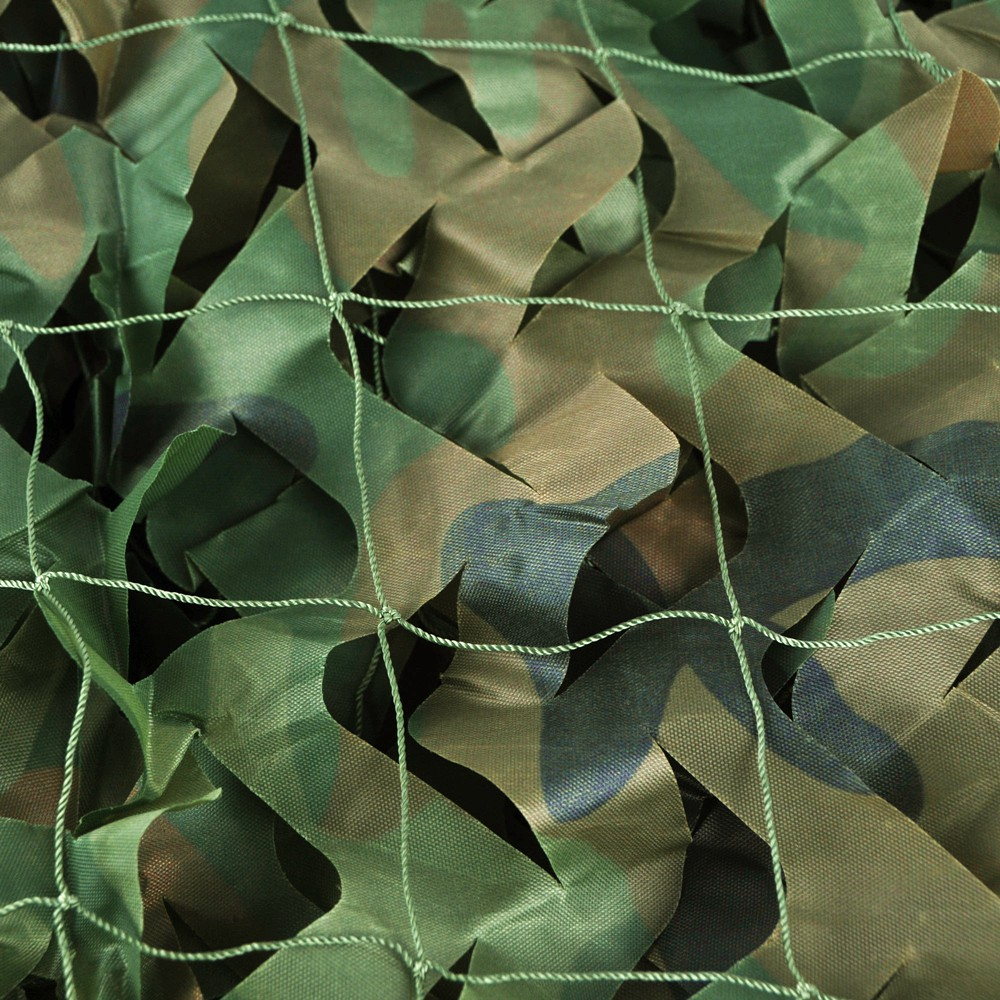 WELEAD Woodland Reinforced Military Camouflage Nets Hiding Mesh for Hunting Outdoor Awning Garden Shade 3x4 3x5 Concealment Mesh in Sun Shelter from Sports Entertainment