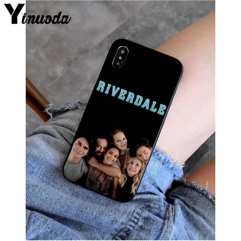 Yinuoda الوردي عصا الشكل أفضل صديق حزب غطاء ذكي الأسود لينة جراب هاتف ل أبل فون 8 7 6 6S زائد X XS ماكس 5 5S SE XR