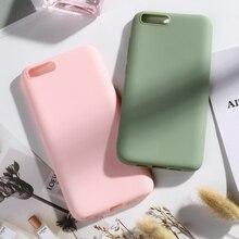 Candy Color for Xiaomi Mi6 Mi 6 Case Soft Silicone Phone For Xiomi Back Cover 5.15 Bumper funda Capa