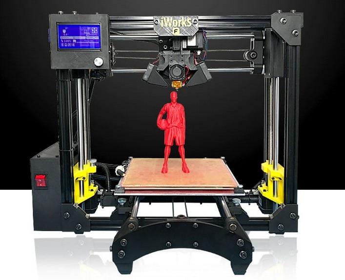 2017 3D printer I3 DIY suite desktop metal structure few steps to assemble