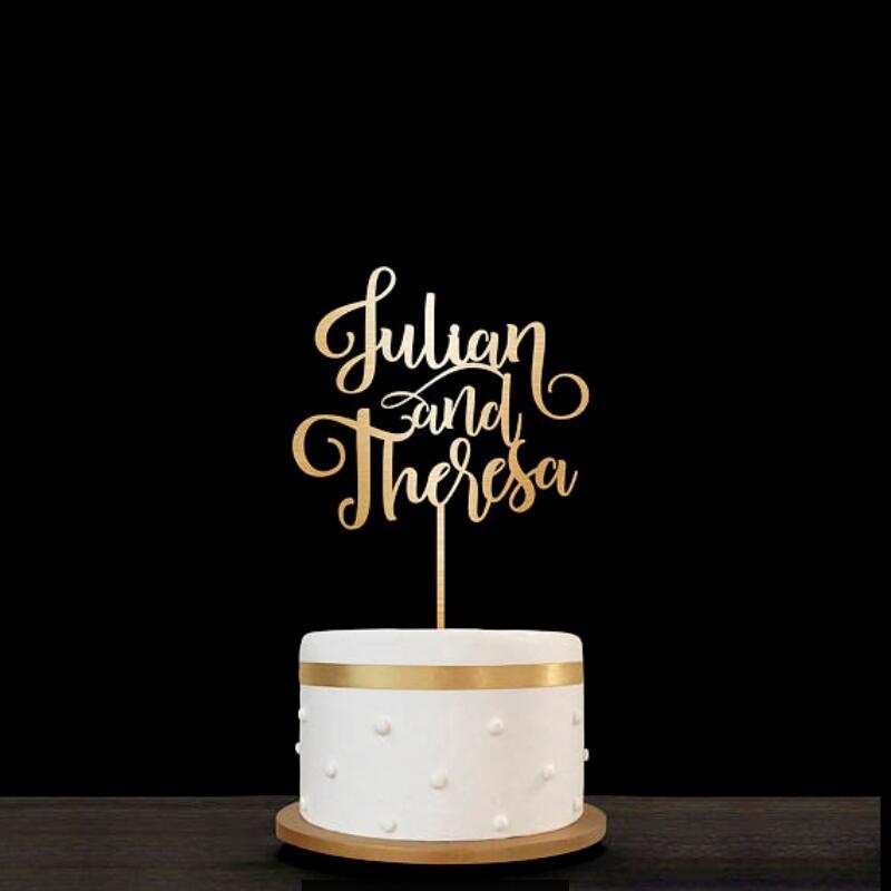 Customized Wedding Cake Topper Initials Personalized Cake Topper for Wedding,Custom Personalized Wedding Cake Topper, Monogram C