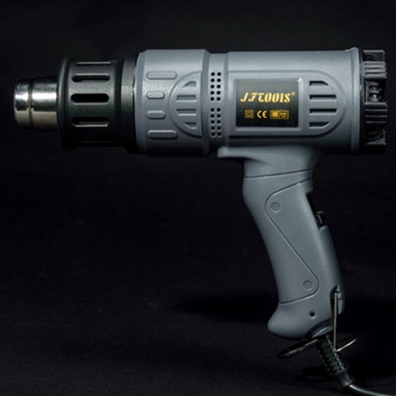 2000w Industrial Hot Air Gun Kit Heat Gun Precision Temperature Control Dual Temp settings for Removing Paint and Bending Pipes
