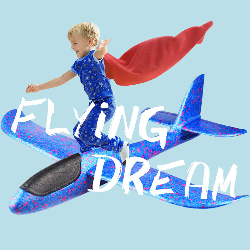 2017 12pcs Diy Hand Throw Flying Glider Planes Foam: 2018 DIY Hand Throw Flying Glider Planes Foam Kids Toys