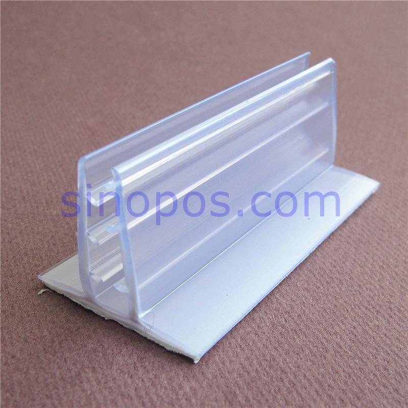 US $14 2  Adhesive Flush Mount Holder For Foam Board Signage, PVC expansion  sheet gripper clip wall table shelf rack flag KT card poster-in Hooks &
