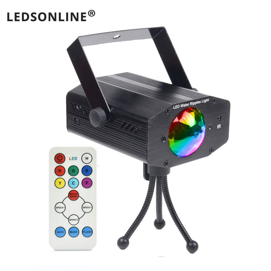 Video hot sale new multi color LED bulb music Laser Stage Lights Lighting Support IR remote DJ Party Home Wedding Club Projector