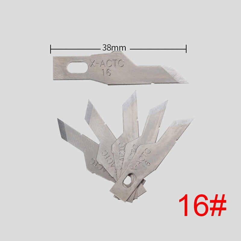 Aço inoxidável Graver Graver Esculpir Faca Lâmina de Faca de Precisão Ferramentas de Reparo Do Telefone Celular